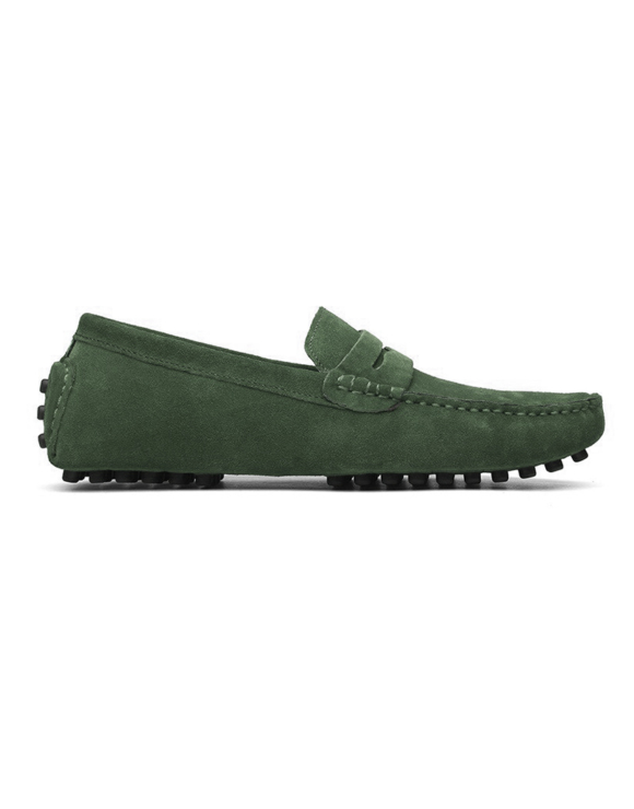 loafer penny mens racing green