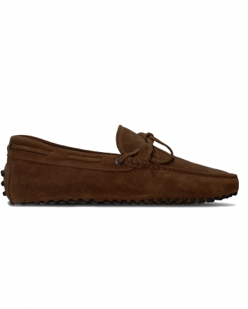 mens driving shoes moccasin loafers - myloafers brown