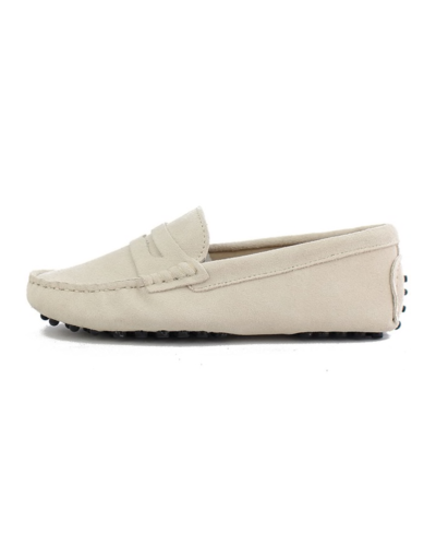 myloafers womens moccasin driving shoes penny loafers beige nude