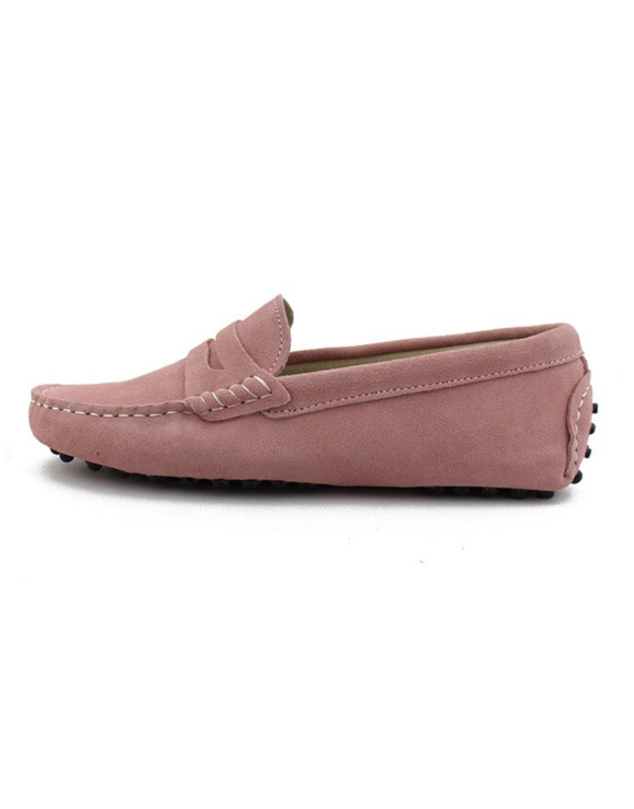 myloafers womens moccasin driving shoes penny loafers dusty pink