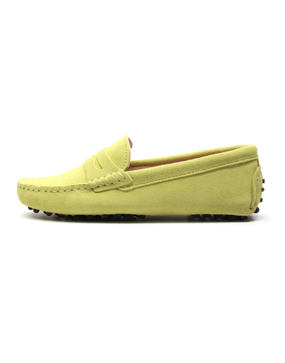myloafers womens moccasin driving shoes penny loafers lemon