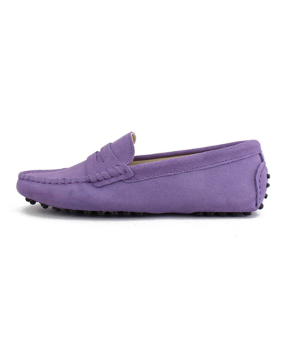 myloafers womens moccasin driving shoes penny loafers lilac