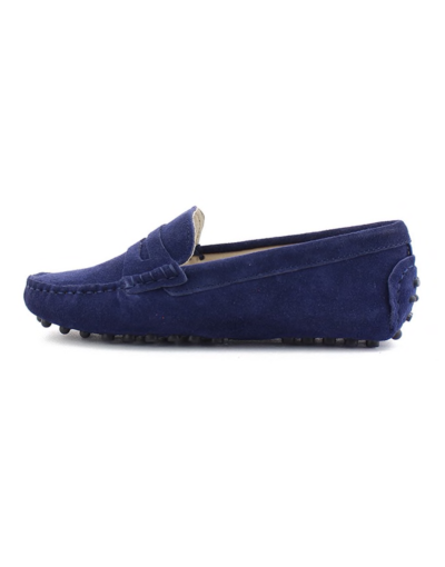myloafers womens moccasin driving shoes penny loafers navy