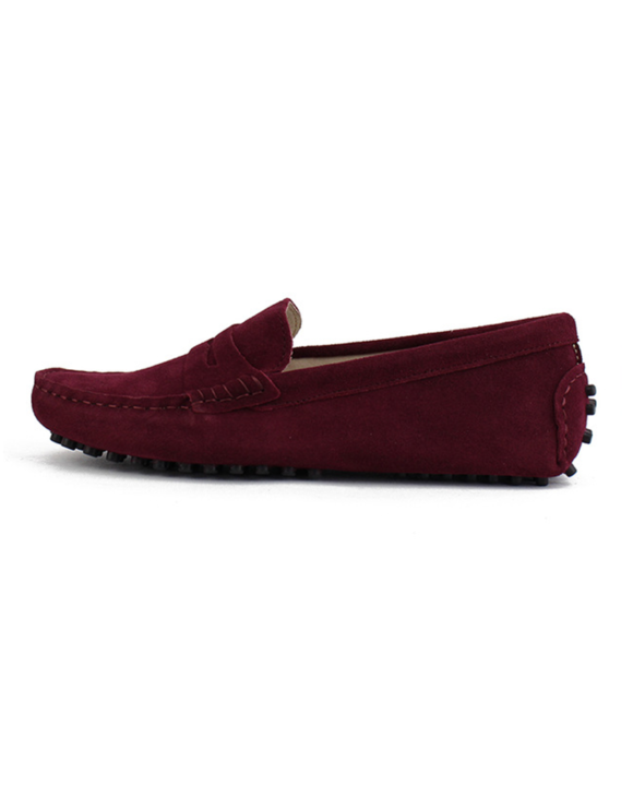 myloafers womens moccasin driving shoes penny loafers oxblood