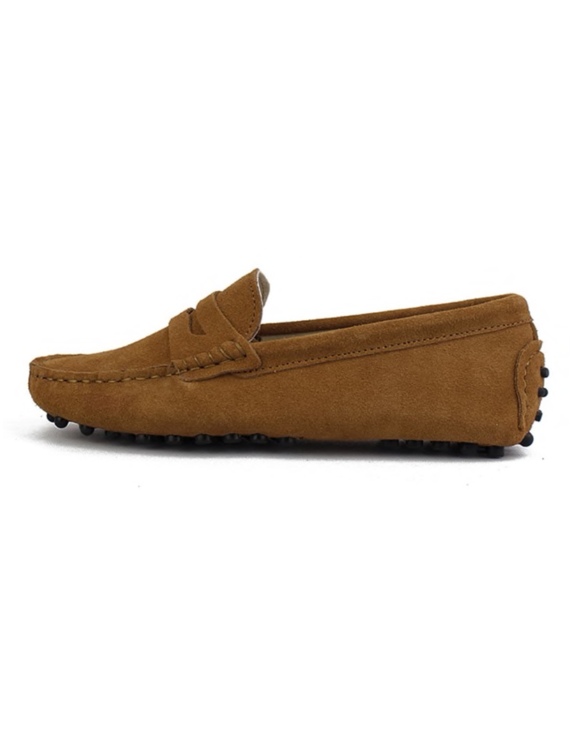 myloafers womens moccasin driving shoes penny loafers tan