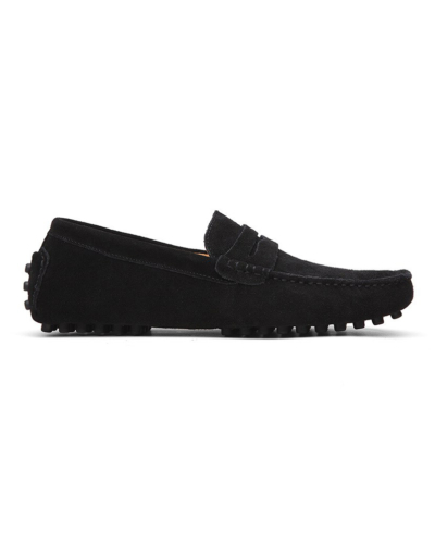 loafer penny mens black