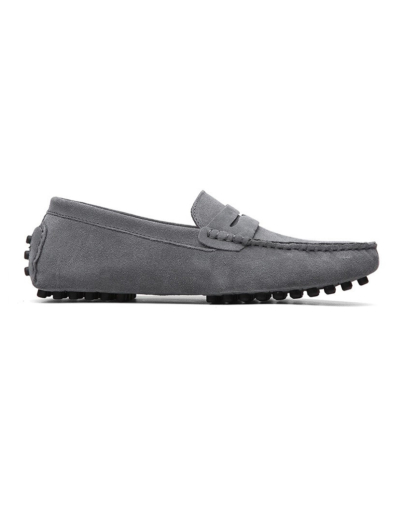 loafer penny mens grey