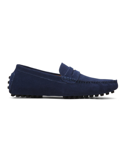 loafer penny mens navy