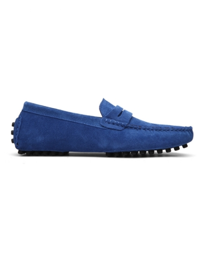 loafer penny mens royal blue