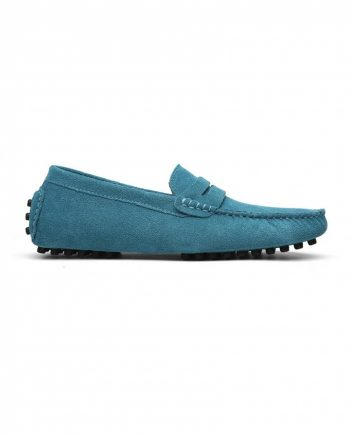 loafer penny mens sky blue