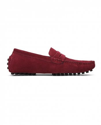 oxblood loafer penny mens
