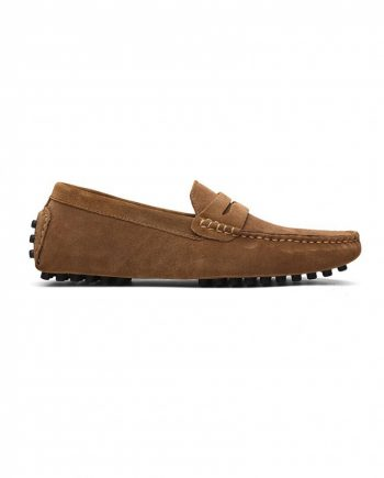 loafer penny mens tan